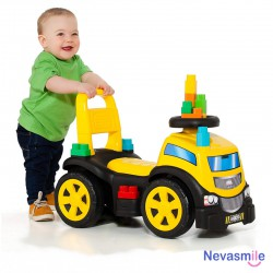 Truck & Blocks Ride-On 3 in 1