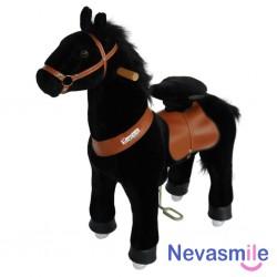 Pony zwart 4-9 jaar