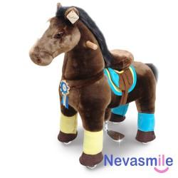 Pony premium donkerbruin...