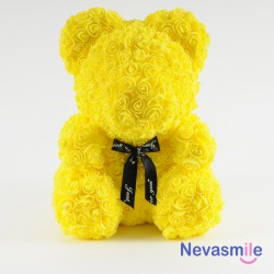 Yellow teddybear with foam...