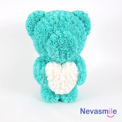 Teal teddybear with foam...