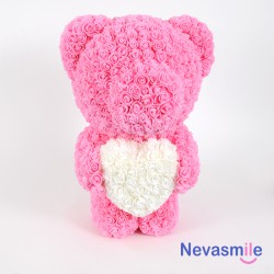 Pink teddybear with foam...