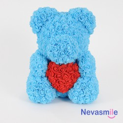 Light blue teddybear with...