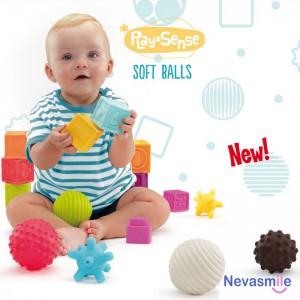 Balles et cubes sensorielles